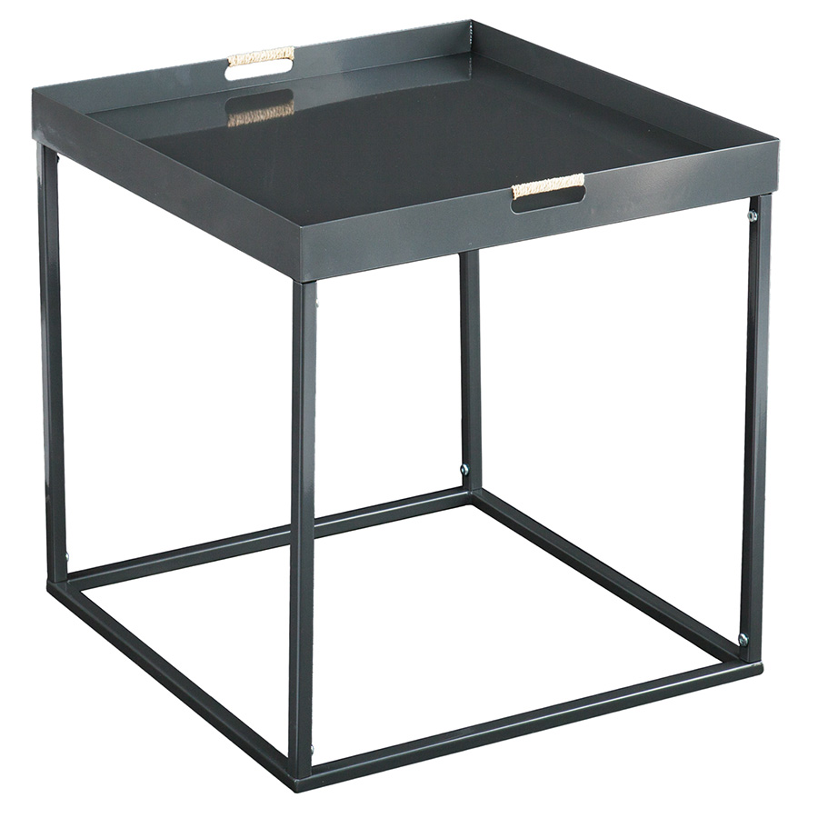 Modern end tables rhone tray end table eurway for Tray side table