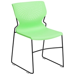 Ruth Modern Green Visitor Chair