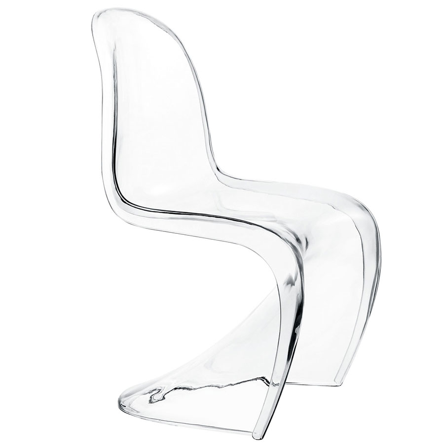 S Acrylic Modern Kid's Chair