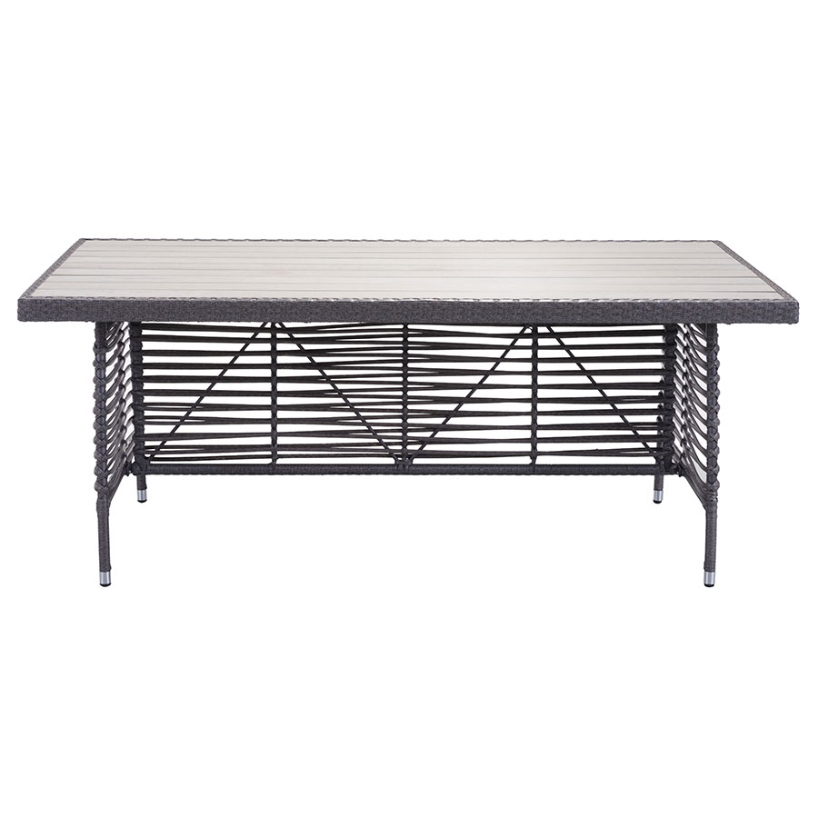 Samir Contemporary Outdoor Dining Table