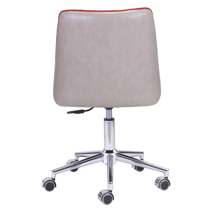Sandrine Orange Contemporary Task Chair