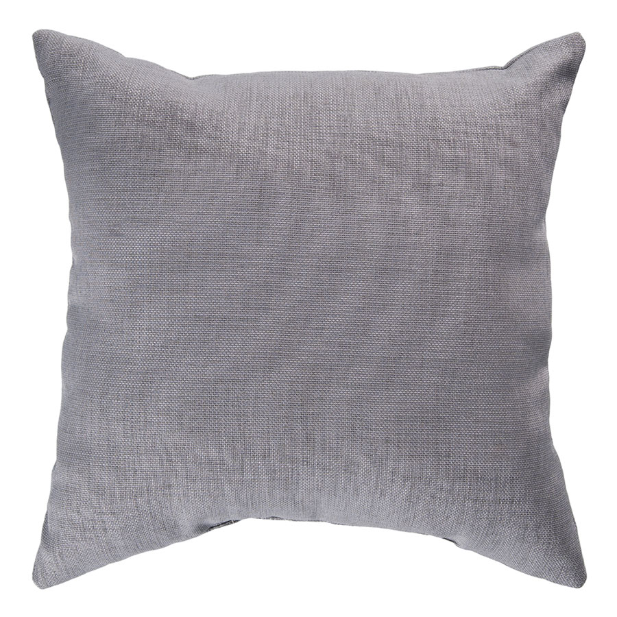 "Sanela 18"" Gray Modern Pillow"
