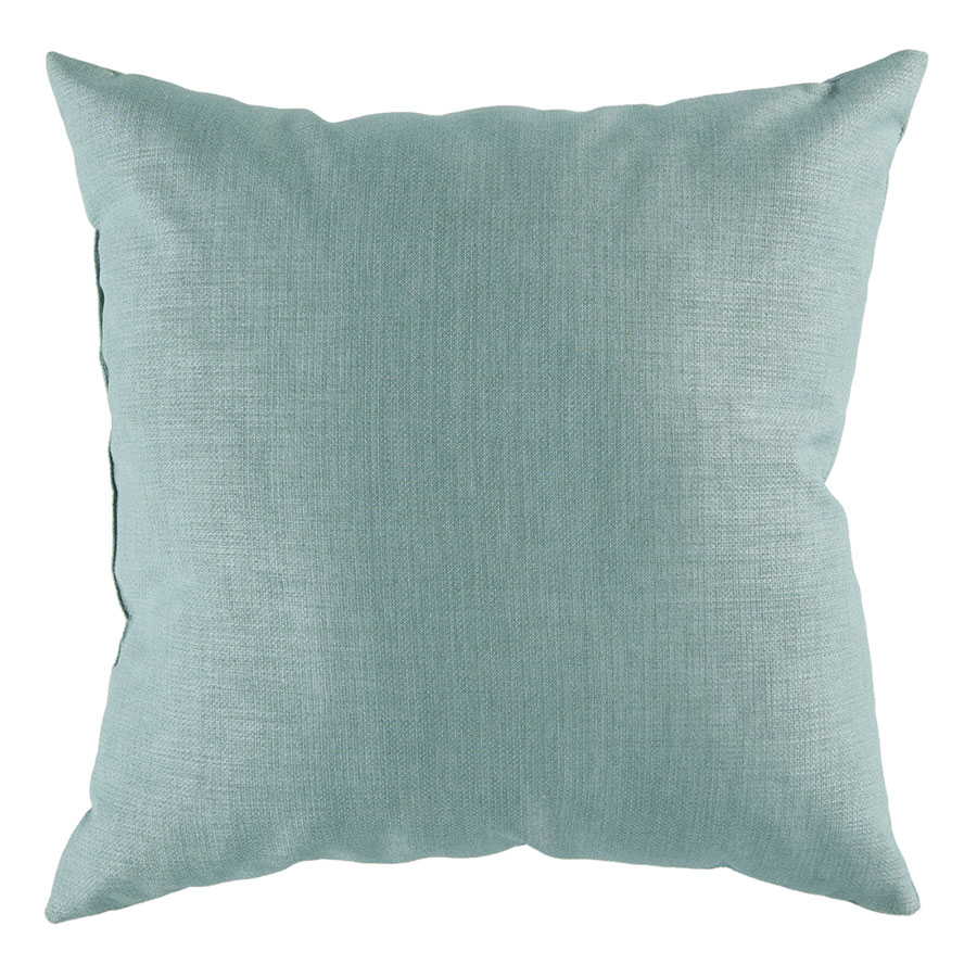 "Sanela 18"" Teal Modern Pillow"
