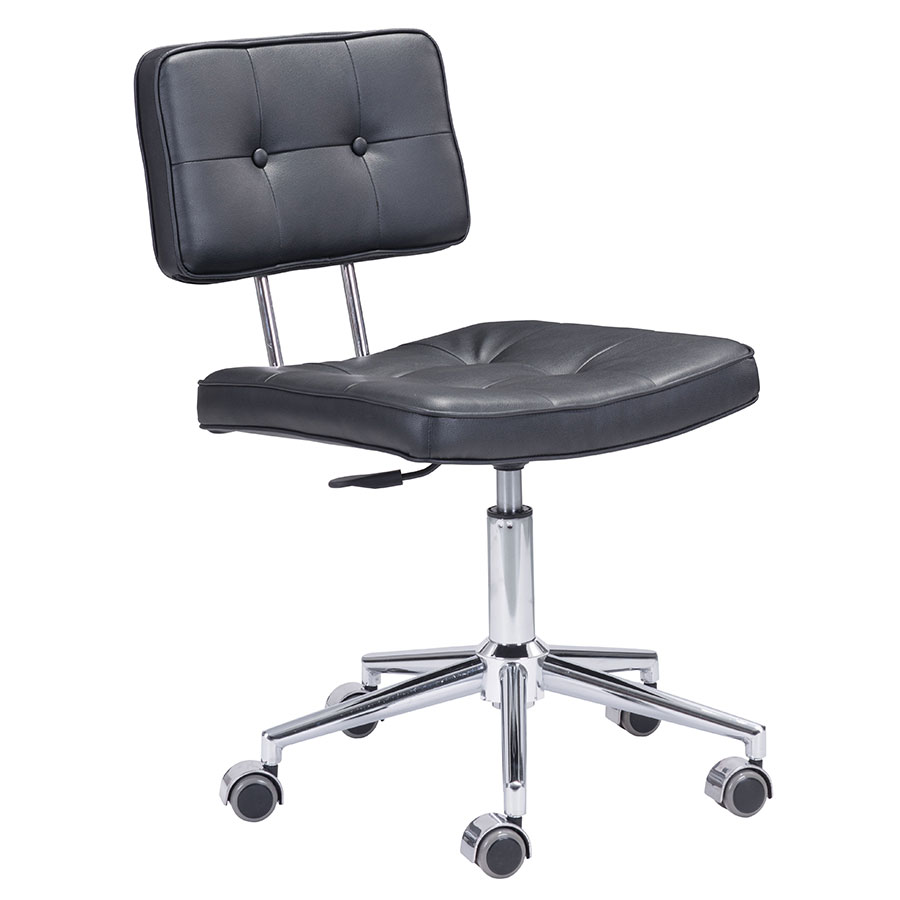 Santeri Black Modern Office Chair