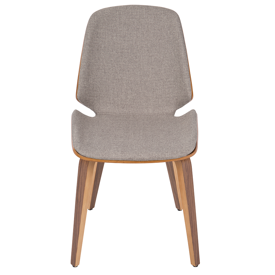 Satchel Gray Contemporary Side Chair