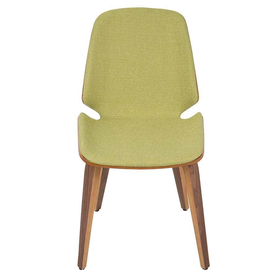 Satchel Green Contemporary Side Chair