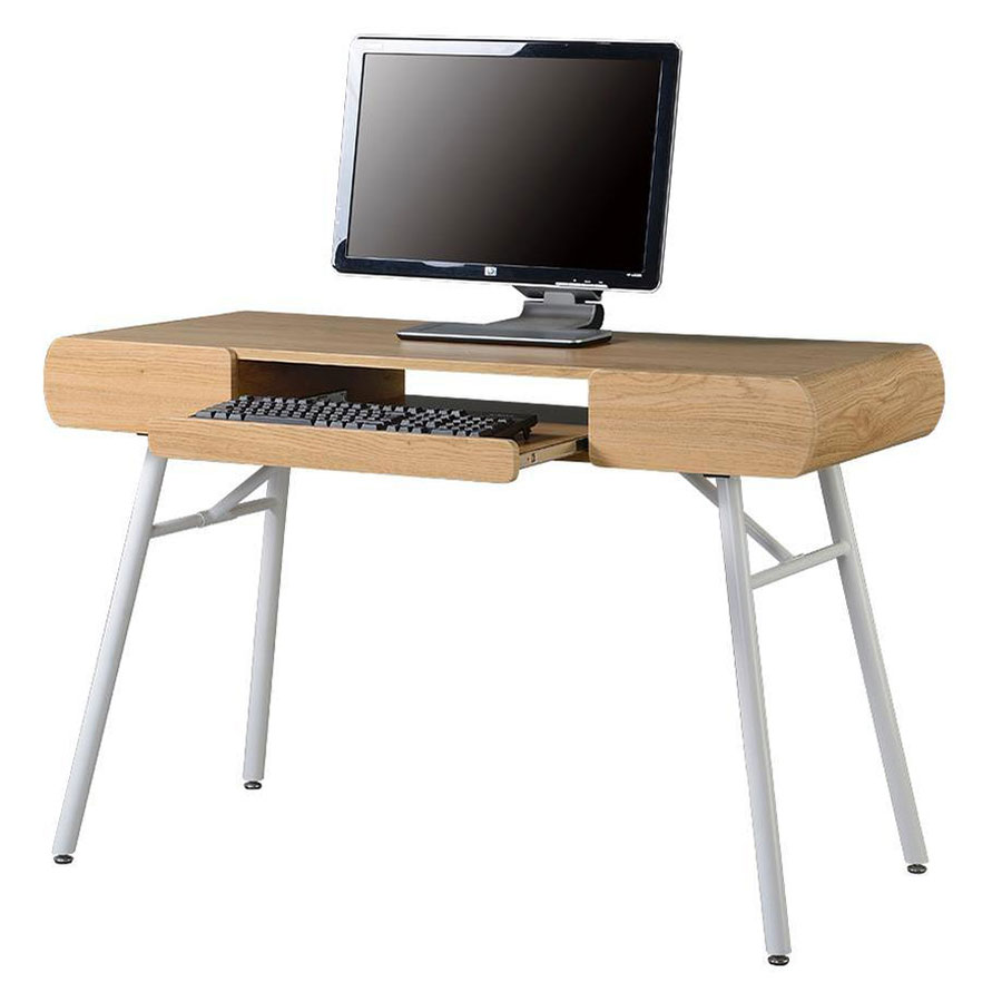 Scandinavia Modern Desk - Keyboard Tray