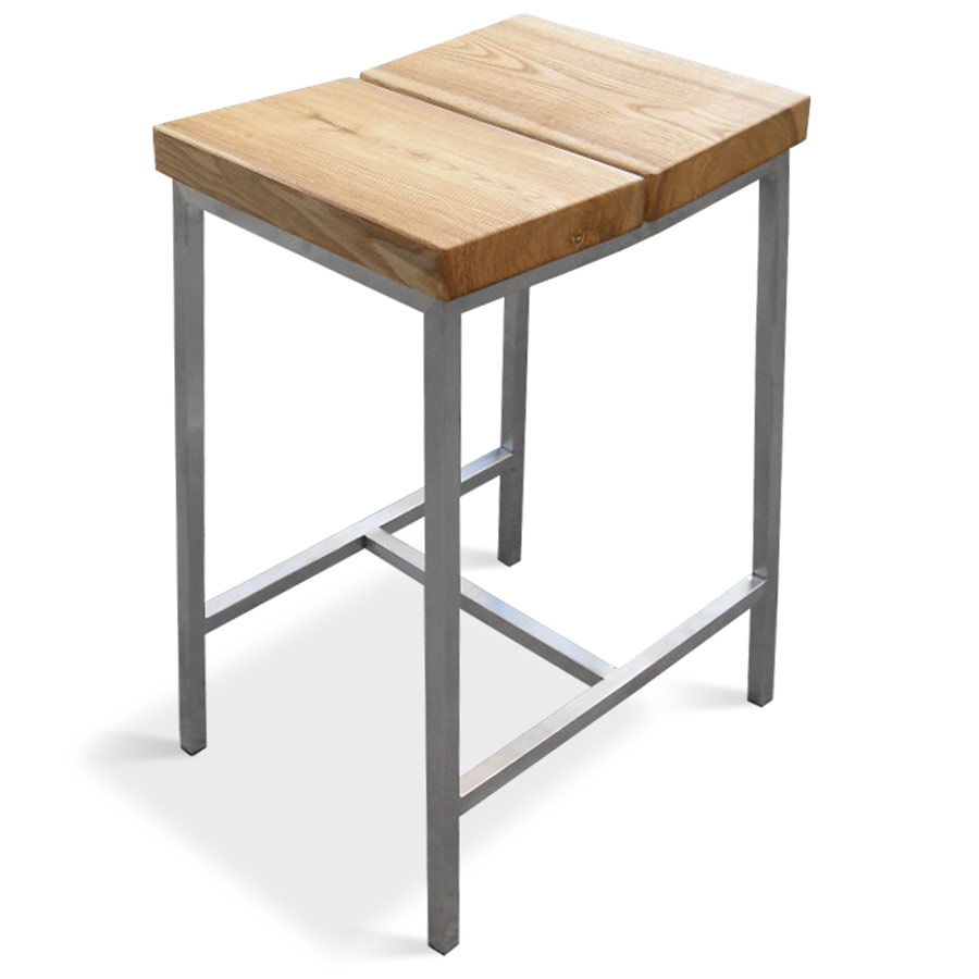 Stanley Contemporary Counter Stool by Gus Modern in Natural Ash