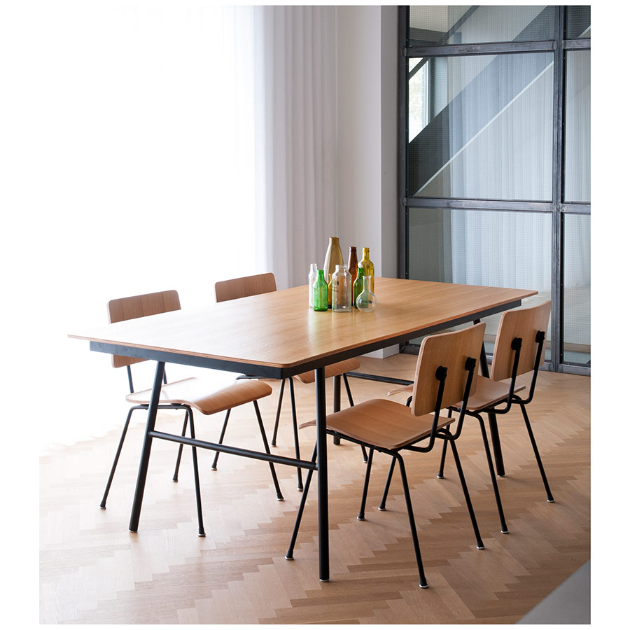 School Table and Chairs - Modern Dining by Gus Modern