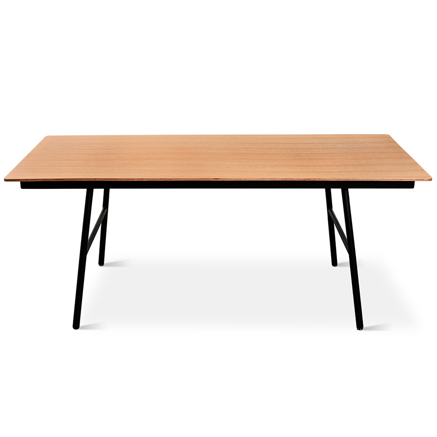 School Dining Table in Natural Oak by Gus Modern