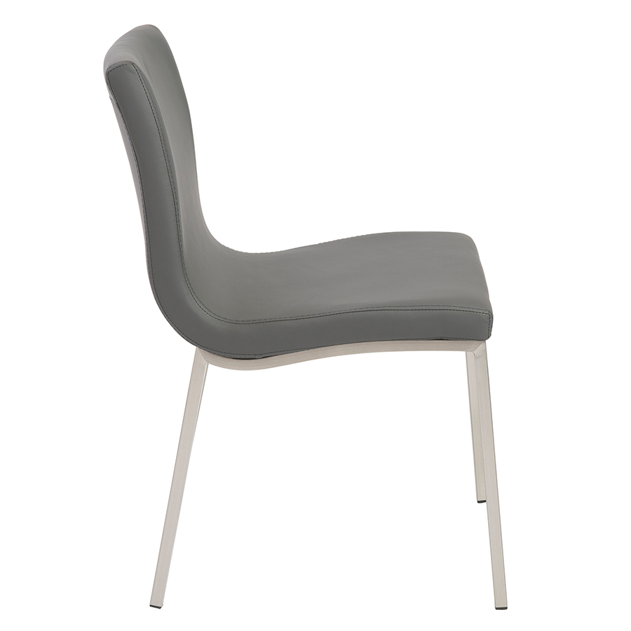 Scott Gray Modern Side Chair