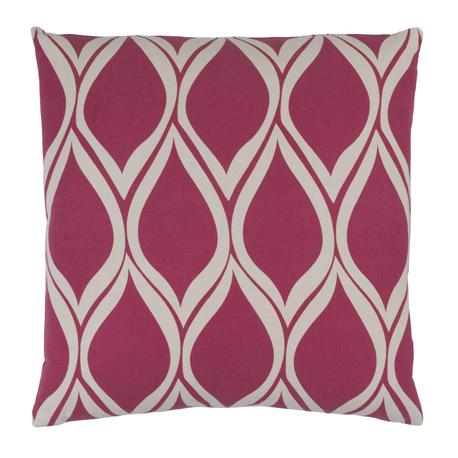 "Scout 20"" Pink Modern Pillow"