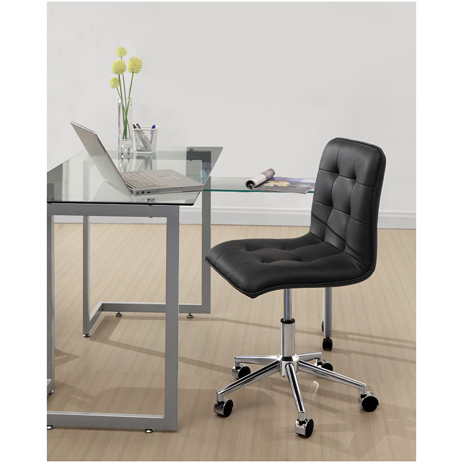 Scout Modern Office Chair in Black