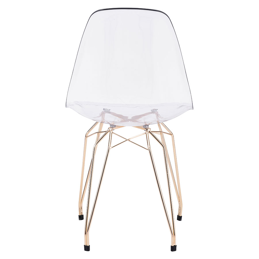 Selig Clear Contemporary Side Chair