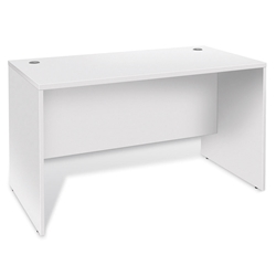 Series 100 Modern White 47 Inch Desk