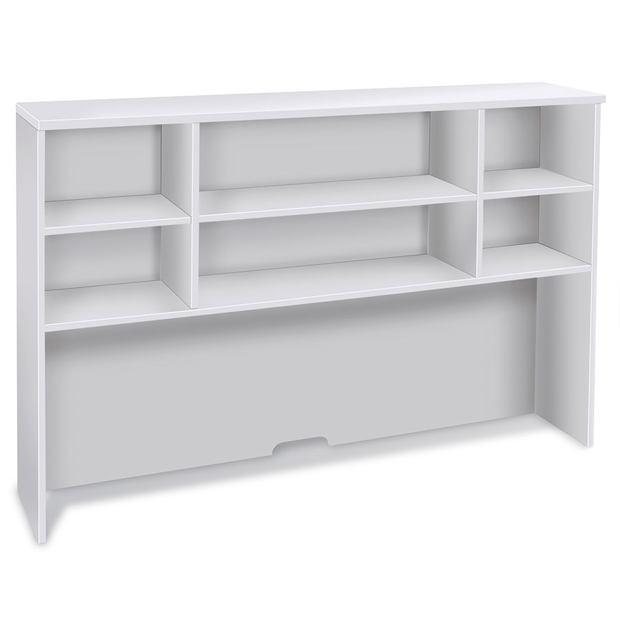 "Series 100 Modern White 63"" Hutch"