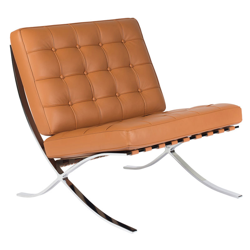 Lounge Chairs - Sevilla Chair in Cognac Full Grain Leather