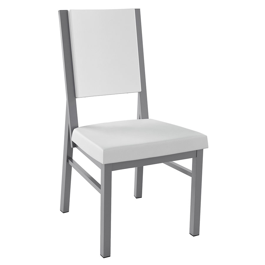 Shadrach Modern Dining Chair in Titanium
