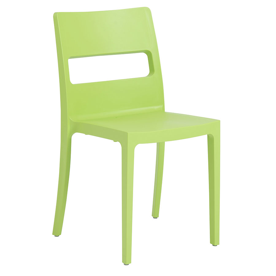 Shannon Modern Dining Chair in Green