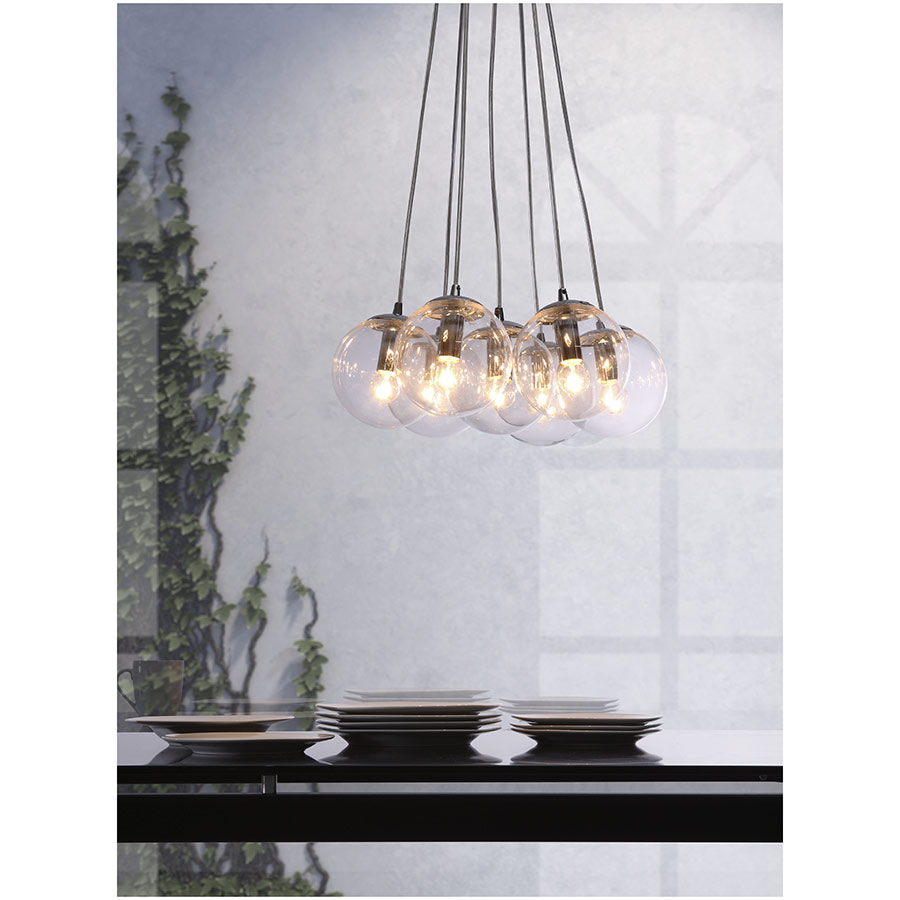 Shimmer Modern Hanging Light