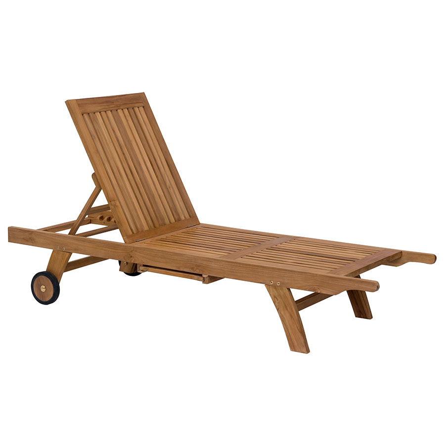 Shula Contemporary Outdoor Chaise Lounge
