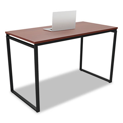 Siena Modern Cherry and Black Desk