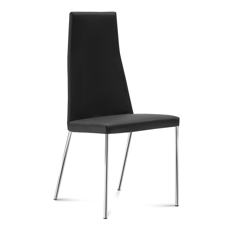 Silva Black Modern Dining Chair