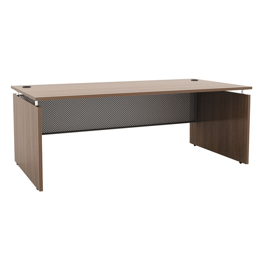Skye Modern 66x30 Desk in Walnut