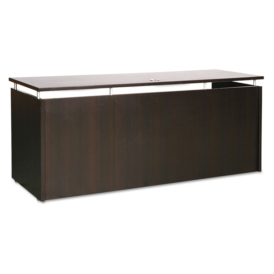 Skye Contemporary 66x24 Narrow Desk in Espresso