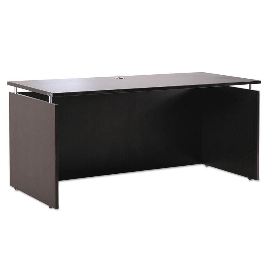 Skye Modern 72x24 Narrow Desk in Espresso