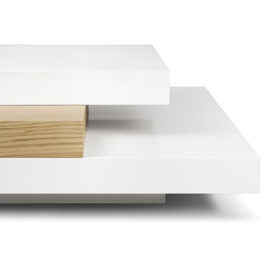 Slate Coffee Table | White + Oak - 9700.625237