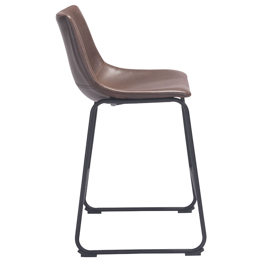 Slater Modern Counter Stool - Side View