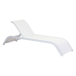 Socorro Modern Outdoor Chaise