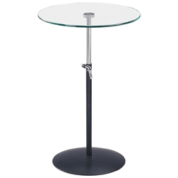 Soho Adjustable Glass Table