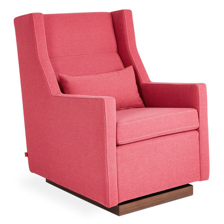 Gus* Modern Sparrow Glider in Berkeley Coral