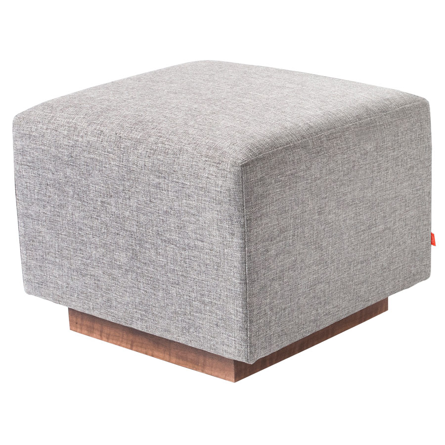 Sparrow Contemporary Glider Ottoman in Parliament Stone