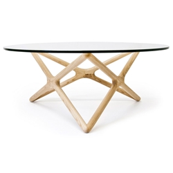 Sparta Solid American Ash Modern Coffee Table