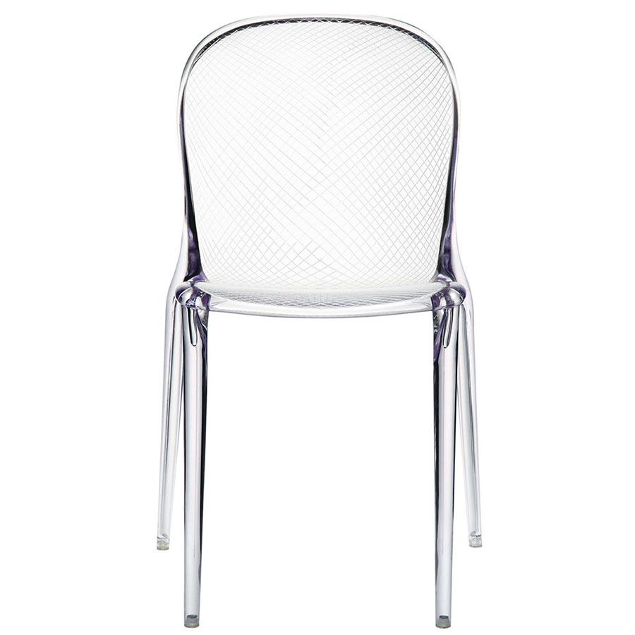 Spirit Clear Acrylic Contemporary Dining Chair