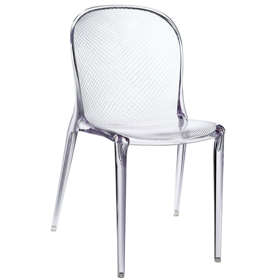 Spirit Clear Modern Dining Chair