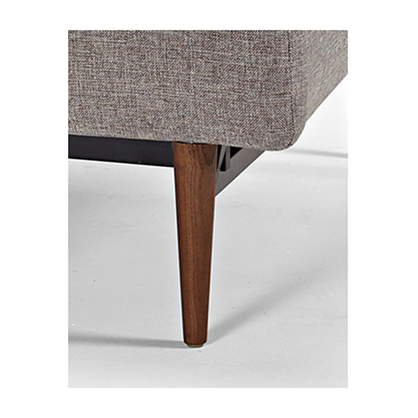 Innovation Splitback - Styletto Dark Wood Legs