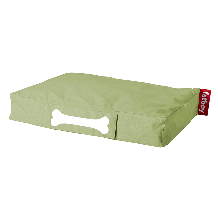 Fatboy Small Stonewashed Dog Bed in Lime Green