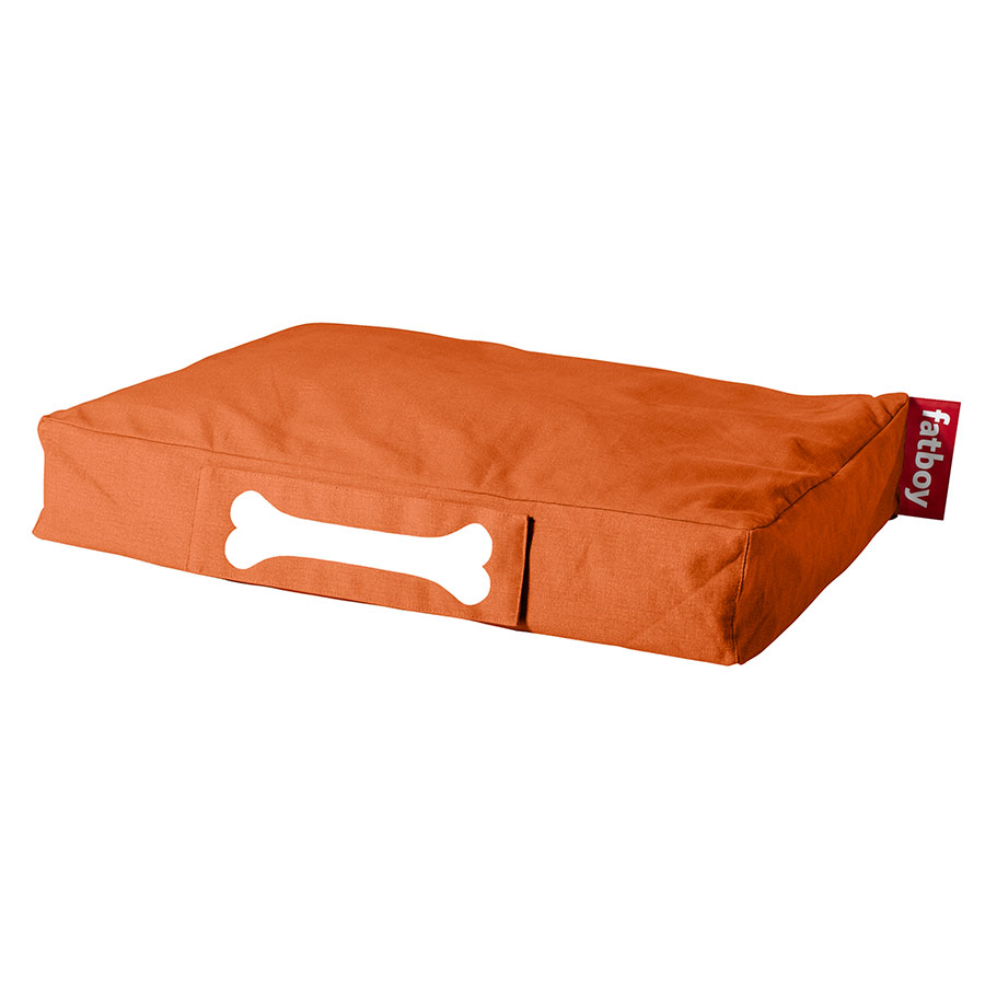 Fatboy Small Stonewashed Dog Bed in Orange