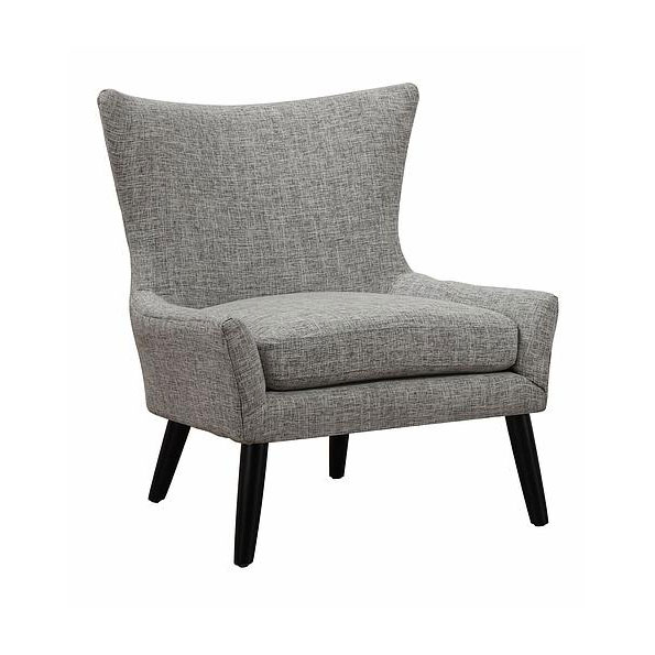 Stuttgart Contemporary Gray Linen Chair