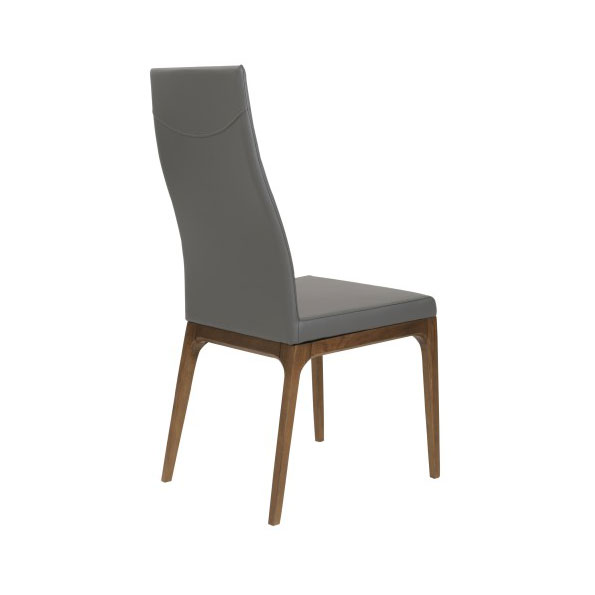 Sullivan Modern High Back Side Chair - Back View