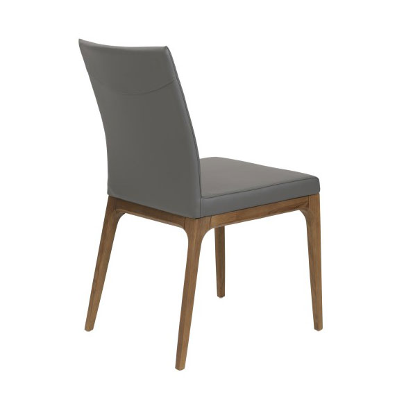 Sullivan Modern Low Back Side Chair - Back View