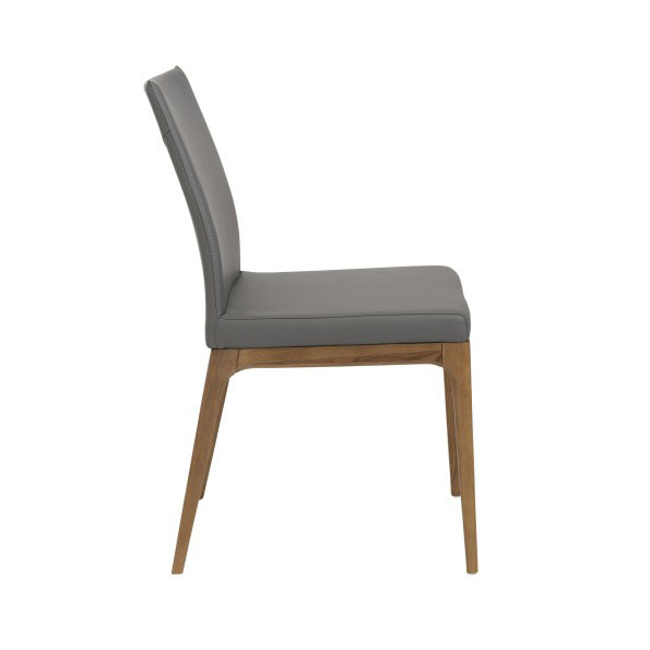 Sullivan Modern Low Back Side Chair - Side View