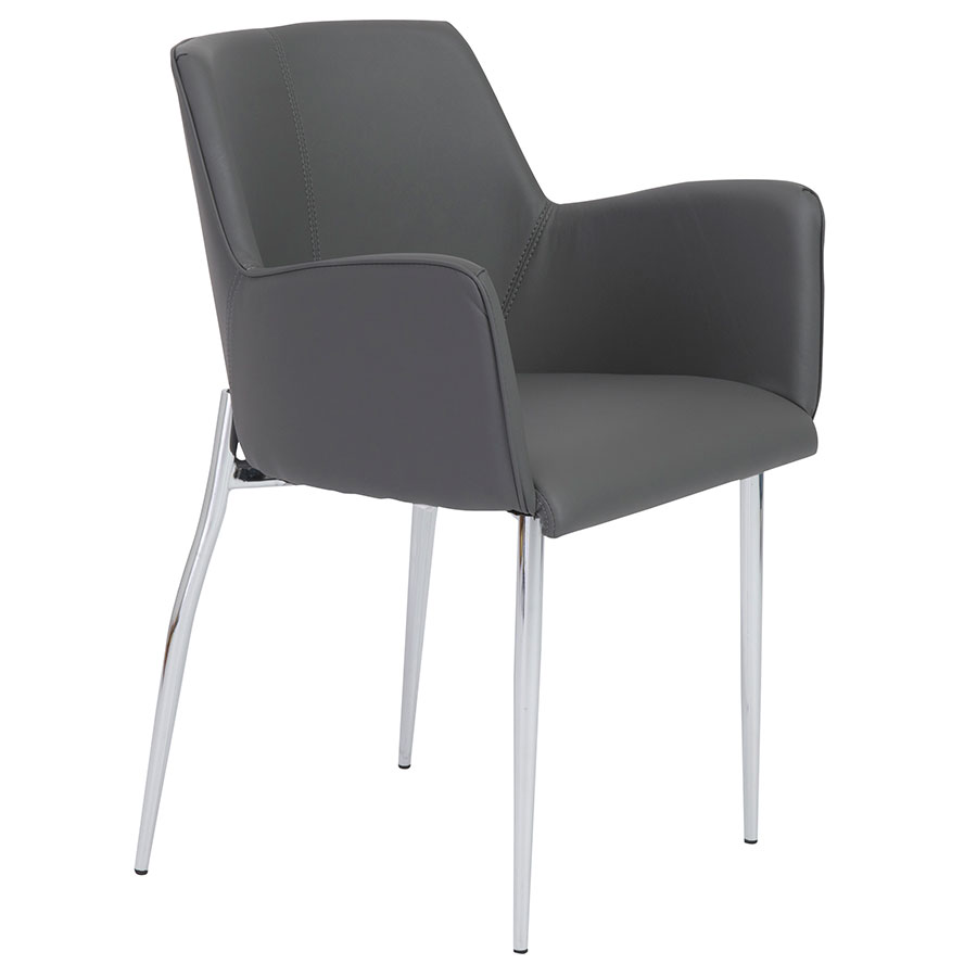 Summit Modern Gray Arm Chair