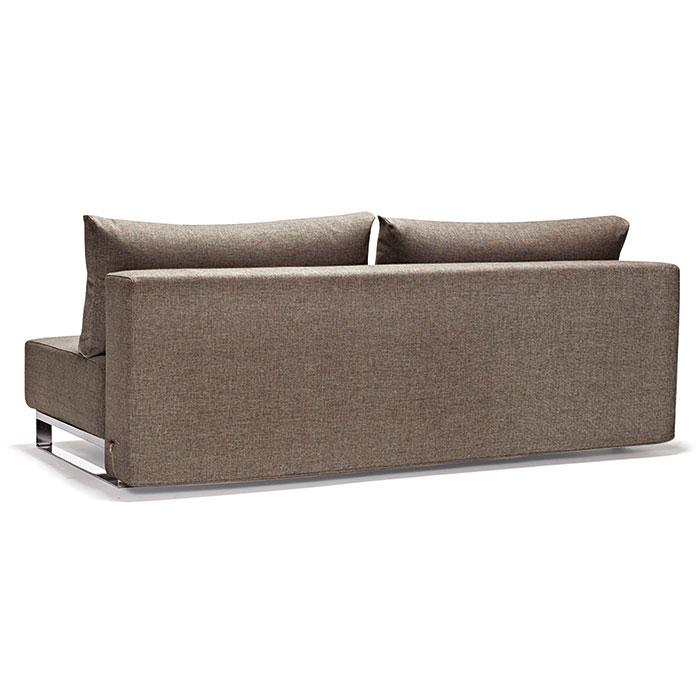 Supremax Sleek Excess Queen Sleeper in Olive - Back View
