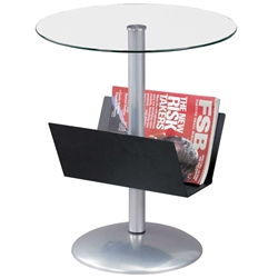 Sutton End Table w/ Mag Rack