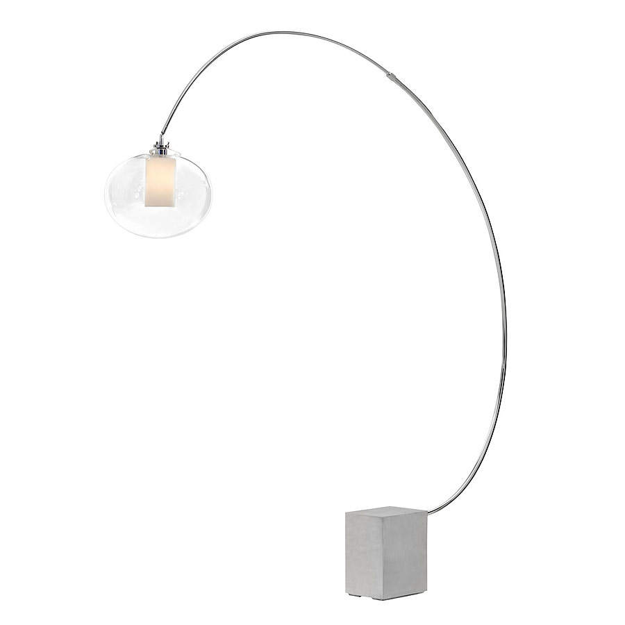 sweep modern floor lamp